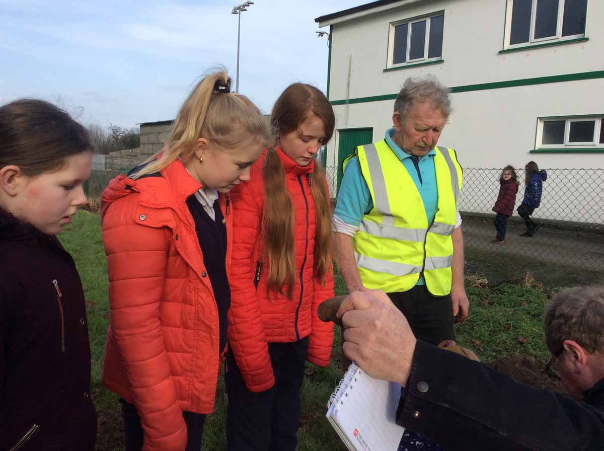 Tree Planting Ceremony   Threen National School, Castlerea